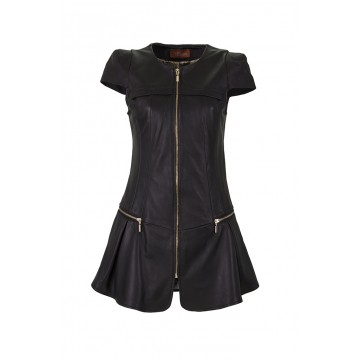 Tasmin Leather Dress