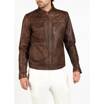Fino new leather biker jacket by hElium