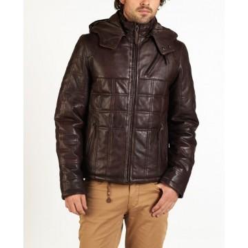 Aldo designer leather jacket by hElium