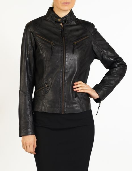 bfb9785fc Nicole women leather jacket by hElium hE^2