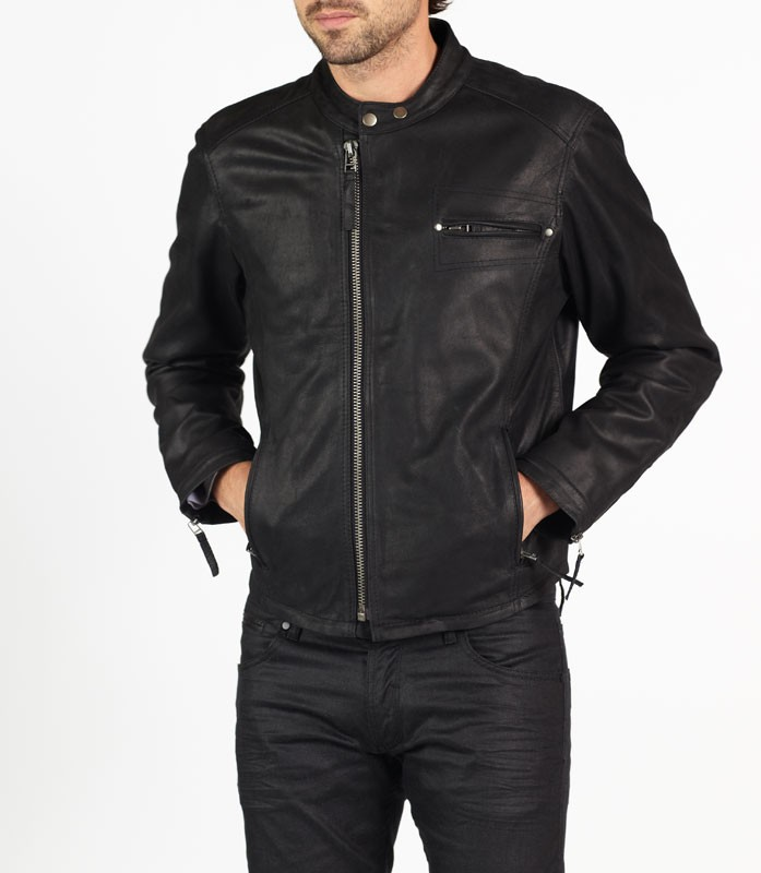 Vito designer biker leather jacket by hElium hE^2