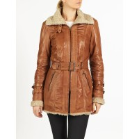 Cara biker style leather jacket by hElium