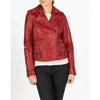 Alisa leather biker jacket by hElium
