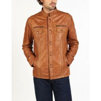 Nico designer classic leather jacket by hElium