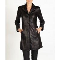 Isabel elegant leather MAC Jacket by hElium