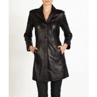 Isabel elegant leather MAC Jacket by hElium