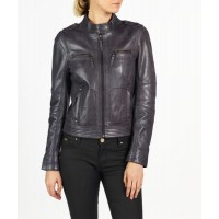 chic and elegant leather jacket classic biker style