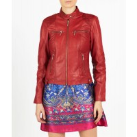 Mia chic casual leather jacket by hElium