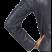 chic and elegant leather jacket classic biker style arm back