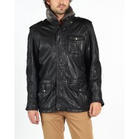 Angelo leather coat by hElium