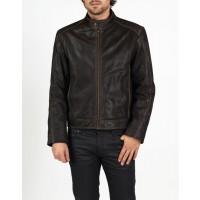 Leonardo combined leather bomber and biker jacket by hElium