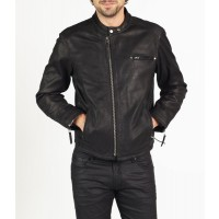 Vito designer biker leather jacket by hElium