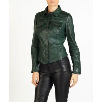 Cianna  leather shirt by hElium