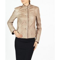 Anna leather blazer style jacket by hElium